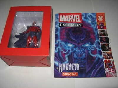 Marvel Fact Files Magneto Statue Figure Special