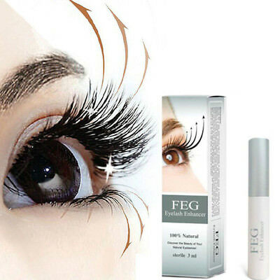 FEG Eyelash Enhancer Rapid Growth Serum ~100% Natural~USA ~ FREE Shipping