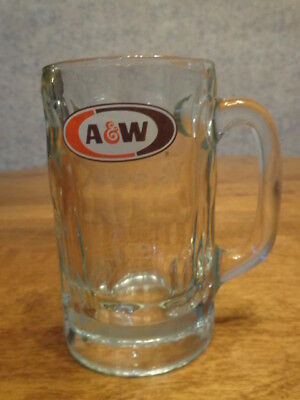 Vintage A & W Root Beer Glass Mug Stein 14 Oz