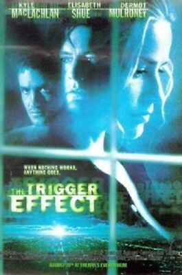Trigger Effect Original Rolled Movie Poster 1996 Kyle Maclachian