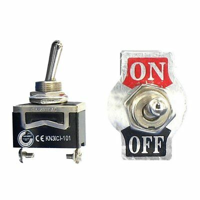 Toggle Switch Heavy Duty 20A 125V SPST 2 Terminal ON/OFF Car ATV