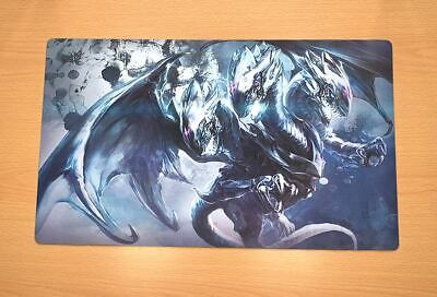 E171 Free Mat Bag Blue Eyes Ultimate Dragon Playmat Yugioh TCG Custom Playmat