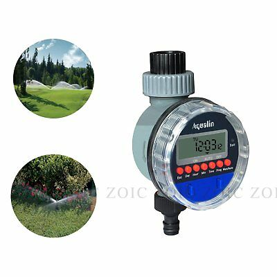 Garden Water Tap Hose Faucet Timer Programmable Irrigation Watering Controllers