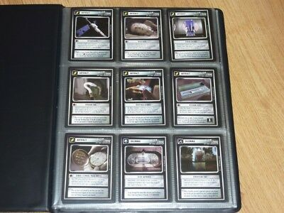 Star Trek CCG Alternate Universe - Full Set 122 Cards - BB - Incl UR - NM to MT