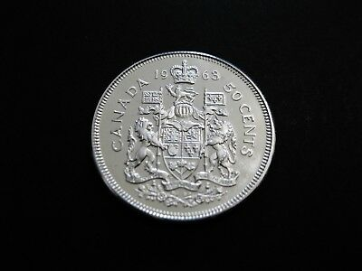 Kanada  50 Cents  1963  Proof  Silber !!