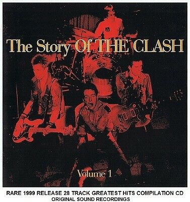 The Clash Very Best Essential Greatest Hits Collection RARE 2CD 70s 80s Punk