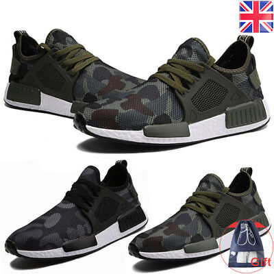 Men's Athletic Casual Sneakers Outdoor Running Breathable Sports Shoes Cool UK