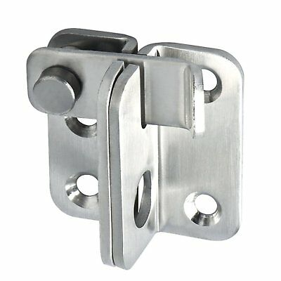 Slide Bolt Door Lock Gate Latch Stainless Steel Tiny Padlock Locking Hasp NEW  sc 1 st  PicClick UK & SLIDE BOLT DOOR Lock Gate Latch Stainless Steel Tiny Padlock Locking ...