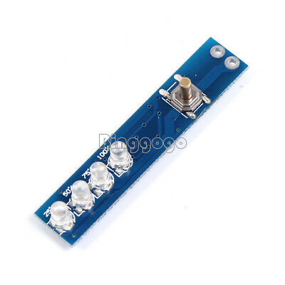 1-4S Lithium Battery Capacity Indicator LED Display Board Panel Power Tester NEW
