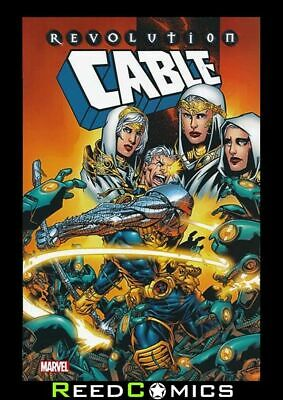 CABLE REVOLUTION GRAPHIC NOVEL New Paperback Collects (1993) #79-96