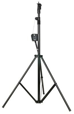 Showtec Wind-Up Lightstand 3000mm Max. Load 20kg