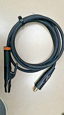 Welding Cable Whip 12'  w/ Disconnect & Holder  #1 Size US Made - free shipping