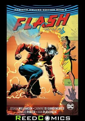 FLASH REBIRTH DELUXE COLLECTION BOOK 2 HARDCOVER Hardback Collects (2016) #14-27