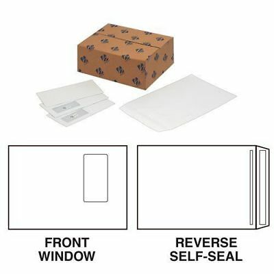 Q-Connect C4 Window Envelopes 100gsm White Self Seal (Pack of 250)