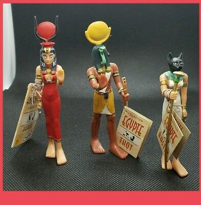 Nwt Retired French version plastoy ancient Egypt mythological goddess Hathor