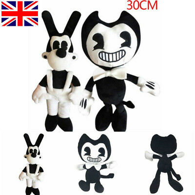 Bendy and the Ink machine Bendy and Boris Plush Soft Toy Stuffed Doll Kids Gift
