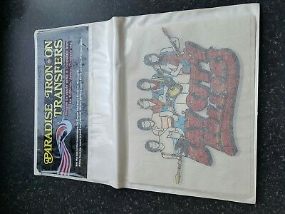 25 VINTAGE/RETRO BAY CITY ROLLERS IRON ON T-SHIRT TRANSFER PRINT SHOP STOCK 70s