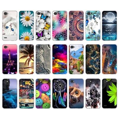 Fashion Rubber Slim Silicone Clear TPU Soft Pattern Back Protect Case Cover Skin