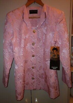 Vintage Geoff Bade Brocade Suit Size 14 Good Condition