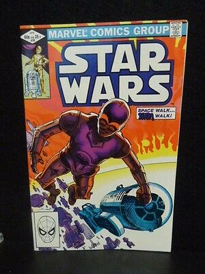 1982 Star Wars Comic #58 By Marvel - Very Good Cond