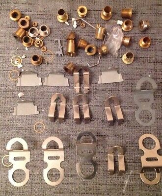 Clock Hangers And Centre Grommets From Clockmakers Spare Parts Collection