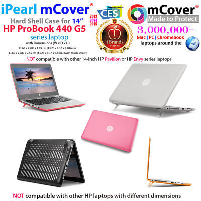 New Mcover Hard Shell Case For 14 Hp Probook 440 G5 Series Windows Laptop