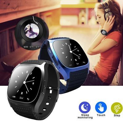 Wrist Waterproof Bluetooth Smart Watch Phone Mate For Android HTC iPhone