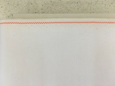 18ct - 18 count Zweigart White Aida Cloth - Assorted precut sizes only