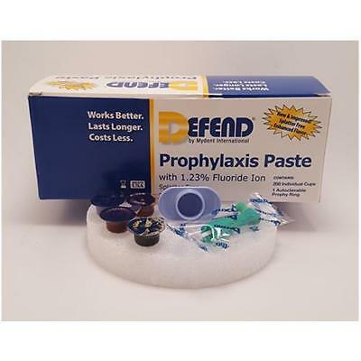 Mydent PP1000 Defend Prophy Paste Cups with Fluoride Coarse Assorted 200/Bx