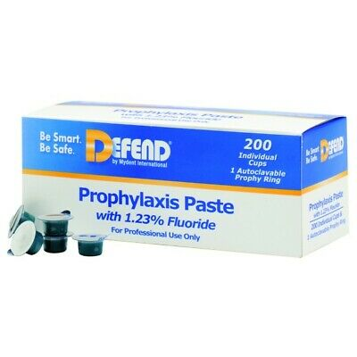 Mydent PP1400 Defend Dental Prophy Paste with 1.25% Fluoride 200/Bx Medium Assrt