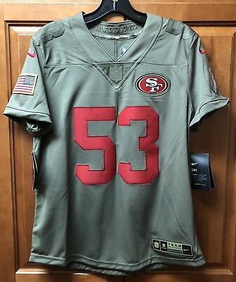 Discount NWT WOMEN'S NAVORRO BOWMAN San Francisco 49ers NIKE Authentic Jersey  free shipping