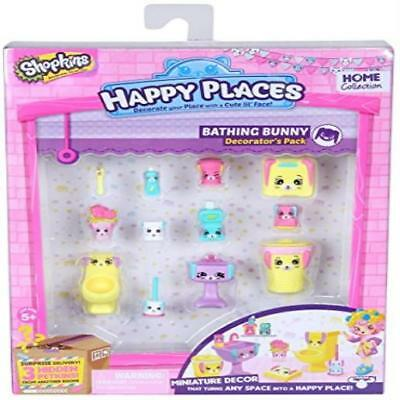 Happy Places Shopkins Decorator Pack Bathing Bunny Toy Play MYTODDLER New