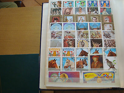 MIDDLE EAST - 42 stamps canceled (all state) stamp