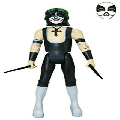 "Bif Bang Pow Kiss Unmasked The Catman Series 2 3 3/4"" Action Figure Toy Play Kid"