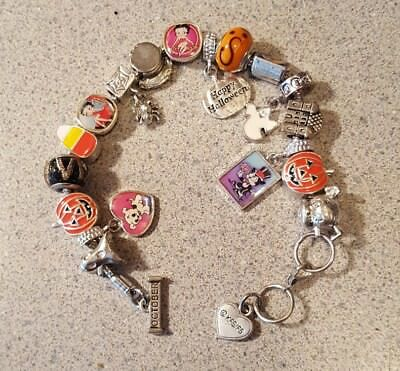 Willabee & Ward BETTY BOOP Charming Year Monthly Charm Bracelet OCTOBER
