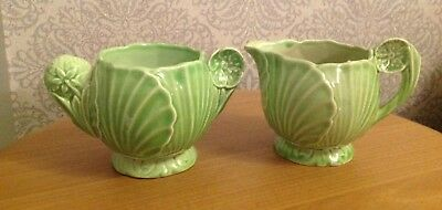 Carltonware Lettuce Design small jugs x 2