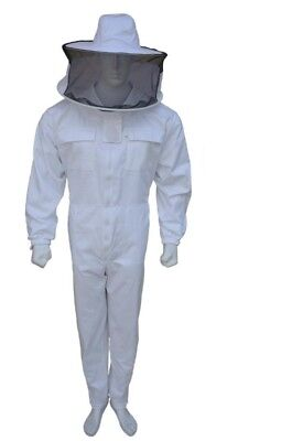 Professional  Beekeeping Suit Beekeeper Jacket Round Veil Full Suit- M01
