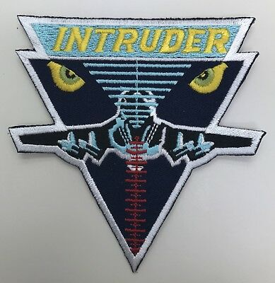 Us Navy A-6 Intruder Usn Embroidered Patch