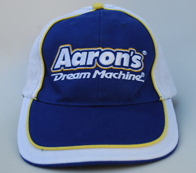 5a8c80797dc Aaron s Dream Machine Adjustable Strapback Curved Brim Dad Hat Baseball Cap