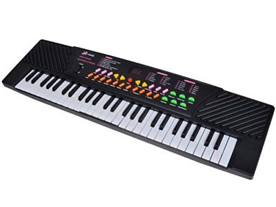 TMS 54 Keys Music Electronic Keyboard Kid Electric Piano Organ Record Playback W