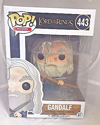 GANDALF 443 Funko POP! The Lord of the Rings vinyl figure New In Package