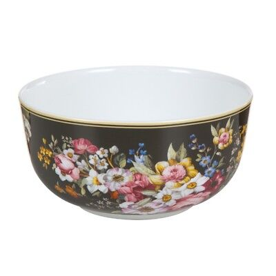 Bol porcelana Bloom Black