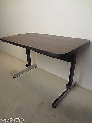 "Adapta 36"" x 20"" Table with adjustable height, black/walnut for Reading machine"