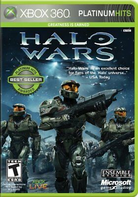 Halo Wars 1 (Xbox 360 + One) *****BRAND NEW & FACTORY SEALED***** Free Shipping!