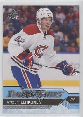 2016-17 Upper Deck #232 Young Guns Artturi Lehkonen Montreal Canadiens RC Card
