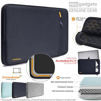 """Genuine tomtoc Laptop Sleeve Case Surface Pro 6 5 4 3/ Macbook Pro 13"""" Touch Bar"""