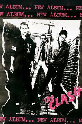 THE CLASH NEW ALBUM POSTER (61x91cm)  PICTURE PRINT NEW ART