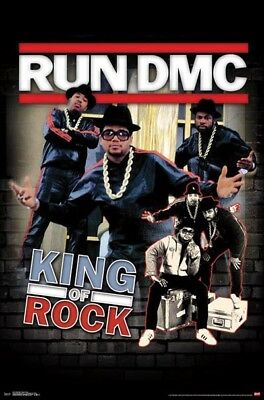 RUN DMC - KING OF ROCK POSTER (61x91cm)  PICTURE PRINT NEW ART