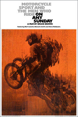 (LAMINATED) ON ANY SUNDAY MOVIE SCORE POSTER (61x91cm)  PRINT NEW ART