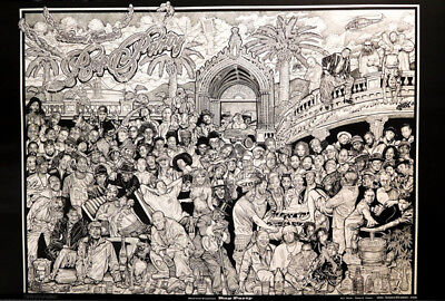 RAP PARTY HOWARD TEMAN ART TO THE BONE POSTER (61x91cm)  PICTURE PRINT NEW ART